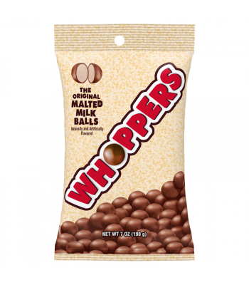 Whoppers Malted Milk Balls - 7oz (198g) Sweets and Candy Whoppers