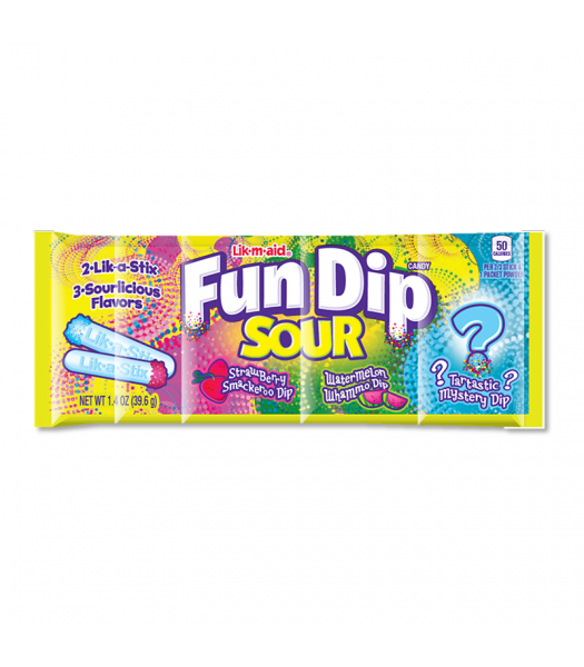 Fun Dip Lik-M-Aid Sour - 1.4oz (39.6g)