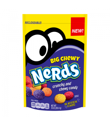 Nerds Big Chewy Stand Up Bag - 10oz (283.4g) Sweets and Candy Nestle