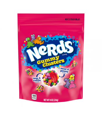 Nerds Gummy Clusters - 8oz (226g) Sweets and Candy