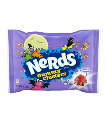 Nerds Halloween Gummy Clusters - 6oz (170g) Sweets and Candy Wonka