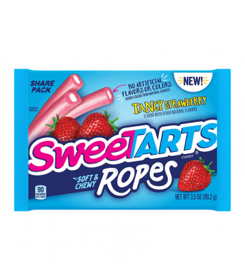 SweeTarts Ropes Tangy Strawberry 3.5oz (99g) Sweets and Candy Nestle