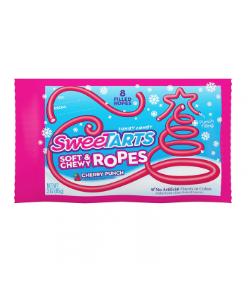 SweeTarts Soft & Chewy Ropes Cherry Punch - 3oz (85g) [Christmas] Sweets and Candy Nestle