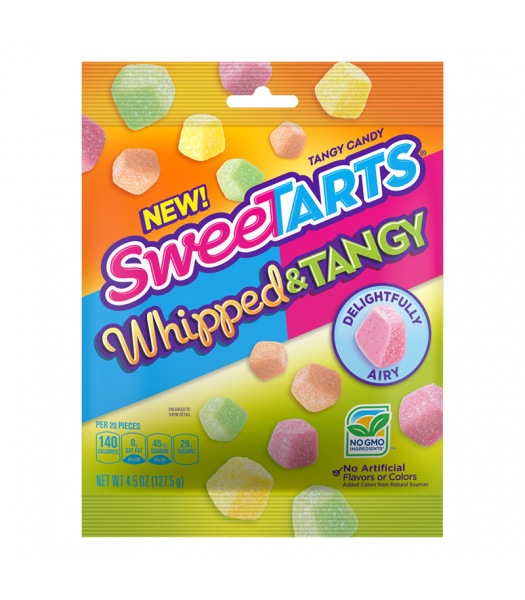 SweeTarts Whipped & Tangy Bites - 4.5oz (127.5g) Sweets and Candy Nestle