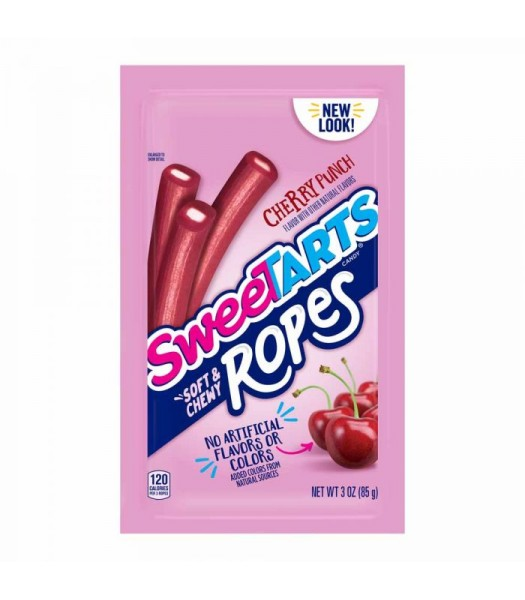 SweeTarts Soft & Chewy Ropes Cherry Punch - 3oz (85g) Sweets and Candy Nestle