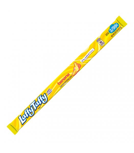 Wonka Laffy Taffy Banana Rope Candy 22.9g Soft Candy Wonka
