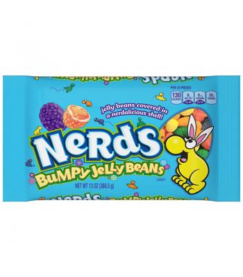 Nerds Bumpy Jelly Beans 13oz (368g) Jelly Beans Wonka
