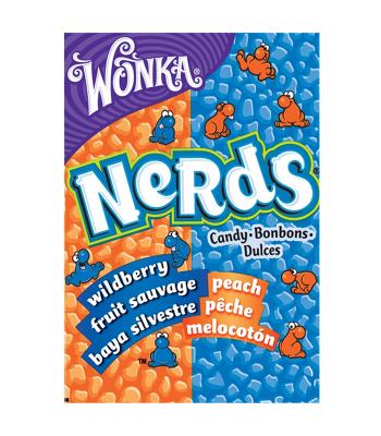 Wonka Nerds Peach & Wildberry 1.65oz (46.7g) Hard Candy Wonka
