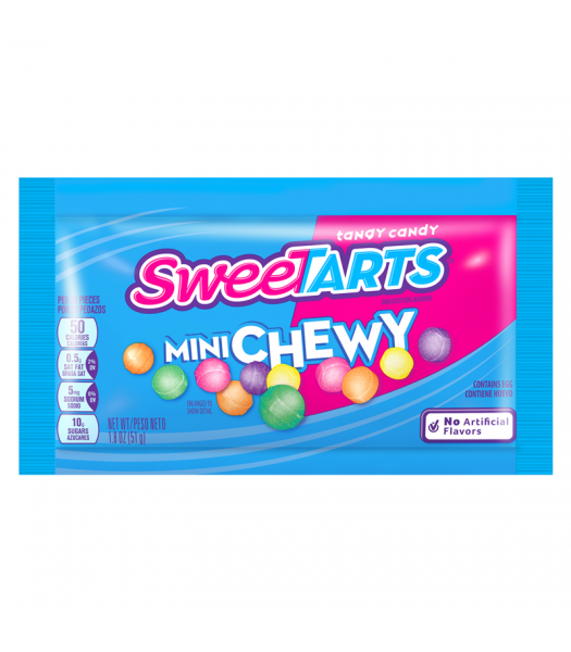 Sweetarts Mini Chewy - 1.8oz (51g) Sweets and Candy Nestle