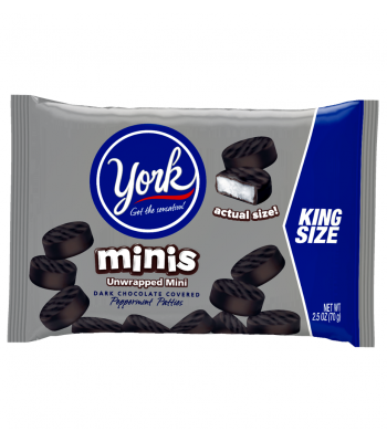 Clearance Special - York Minis 2.5oz ** October 2016 ** Clearance Zone