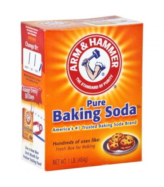 Arm & Hammer Baking Soda 16oz (454g) Food and Groceries