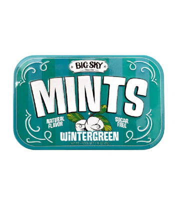 Big Sky Mints - Wintergreen - 1.76oz (50g) Sweets and Candy