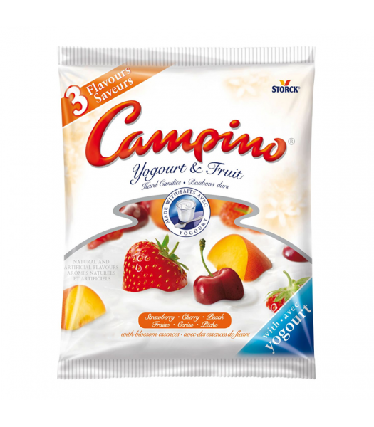Campino Yogurt & Fruit Hard Candies Assorted 120g Canadian Products