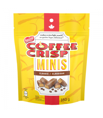 Nestle Coffee Crisp Minis Peg Bag - (180g) Canadian Products Nestle