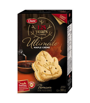 Dare Ultimate Maple Leaf Créme Cookies - (300g) Canadian Products