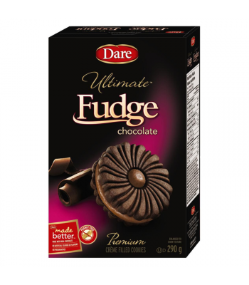 Dare - Ultimate Fudge Chocolate Crème Filled Cookies - 290g [Canadian]