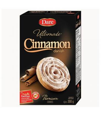 Dare - Ultimate Cinnamon Danish Premium Cookies - 300g [Canadian]