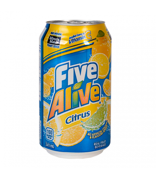 Clearance Special - Five Alive Citrus - (341ml) ** BEST BEFORE: Nov/Dec 2018 ** Clearance Zone