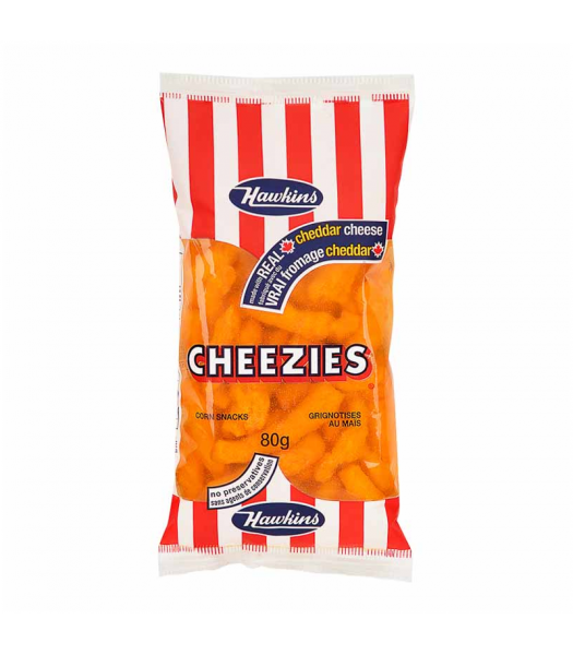 Hawkins Cheezies (70g) Canadian Products Frito-Lay