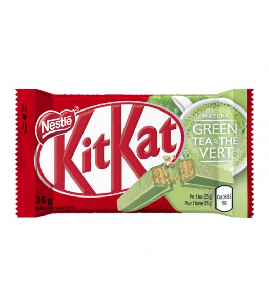 Kit Kat Green Tea - (35g) Canadian Products Nestle