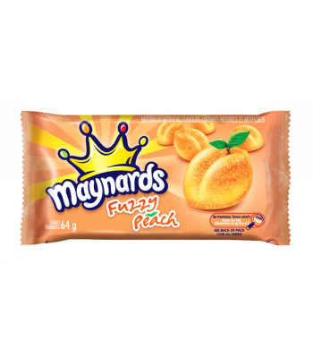 Maynards Fuzzy Peach (64g) Canadian Products