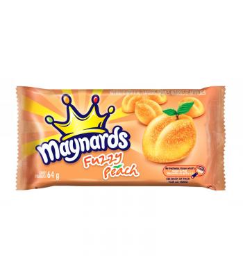 Maynards Fuzzy Peach (64g) Canadian Products