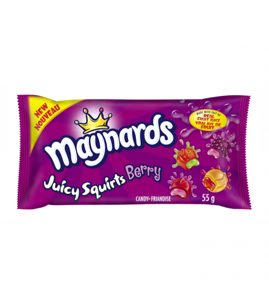Maynards Juicy Squirts Berry (55g) Canadian Products