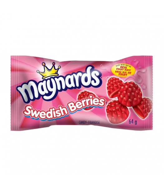 Maynards Swedish Berries (64g) Canadian Products
