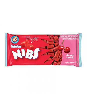Twizzlers Nibs Cherry 75g Canadian Products Twizzlers
