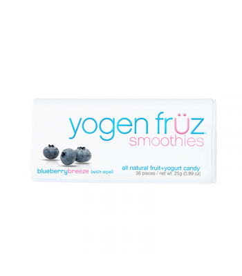 Yogen Früz Smoothies - Blueberry Breeze - 25g Sweets and Candy