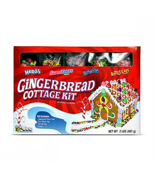 Wonka Christmas Gingerbread Cottage Kit - 2lbs (907g) [Christmas] Sweets and Candy Ferrara