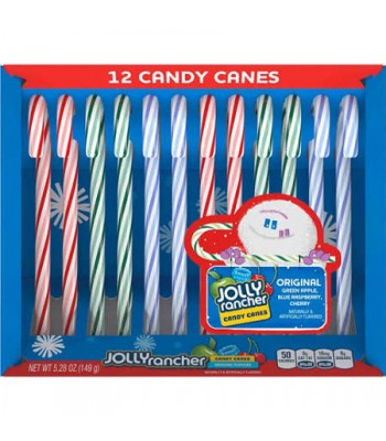 Clearance Special - Jolly Rancher - Candy Canes - 5.28oz (149g) **DAMAGED** Clearance Zone