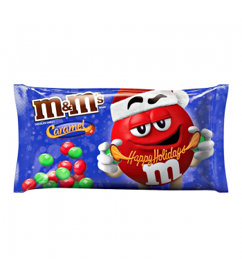 M&M's - Caramel - 10.2oz (289g) [ Christmas 2017 ] Sweets and Candy M&M's