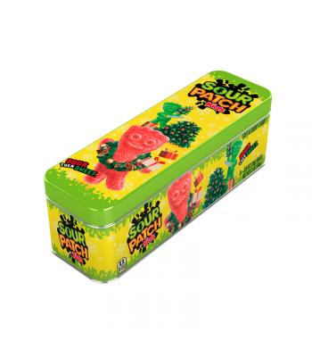 Sour Patch Kids Festive Holiday Tin - 3oz (90g) Sweets and Candy Sour Patch
