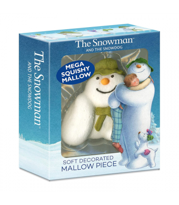 The Snowman and The Snowdog Decorated Mega Mallow - 80g Sweets and Candy