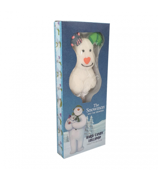 The Snowman and The Snowdog Hard Candy Lollipop - 90g Sweets and Candy
