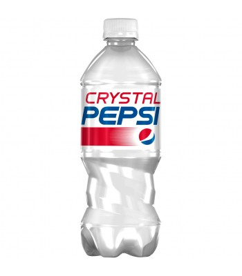 Crystal Pepsi - 20oz Bottle - LIMITED EDITION! Soda and Drinks Pepsi