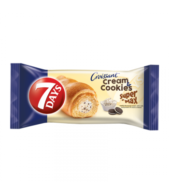 7 Days Cream & Cookies Vanilla & Cocoa Soft Filled Croissant - 110g Cookies and Cakes