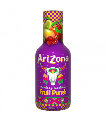 AriZona Cowboy Cocktail Fruit Punch - 500ml Soda and Drinks Arizona