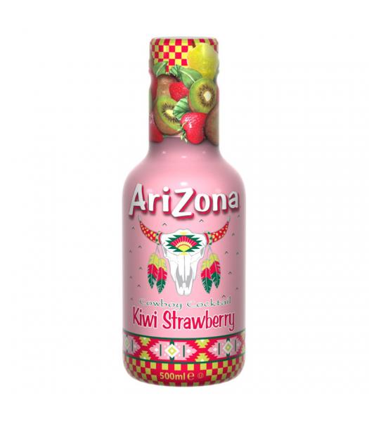 AriZona Cowboy Cocktail Kiwi Strawberry - 500ml Soda and Drinks Arizona