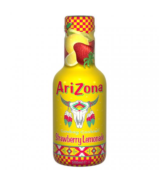 AriZona Cowboy Cocktail Strawberry Lemonade - 500ml Soda and Drinks Arizona