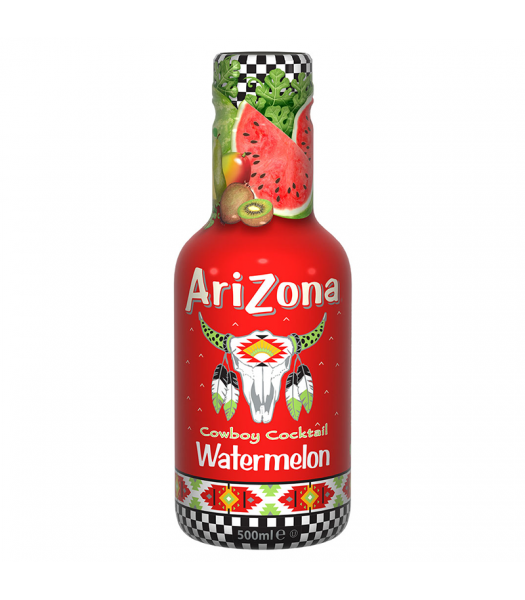 AriZona Cowboy Cocktail Watermelon - 500ml Soda and Drinks Arizona