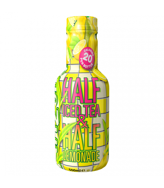 AriZona Half Iced Tea & Half Lemonade - 500ml Soda and Drinks Arizona