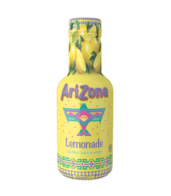 AriZona Lemonade w/ Fruit Juice & Honey - 500ml Soda and Drinks Arizona