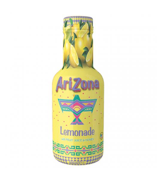 AriZona Lemonade w/ Fruit Juice & Honey - 500ml Soda and Drinks Arizona