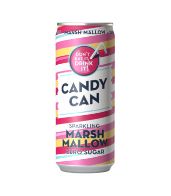 Candy Can Sparkling Marshmallow Zero Sugar - 330ml Soda and Drinks
