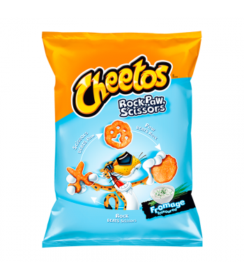 Frito Lay Cheetos Rock, Paw, Scissors Fromage - 145g (EU) Snacks and Chips Frito-Lay