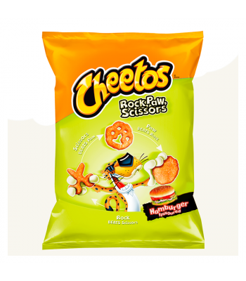 Frito Lay Cheetos Rock, Paw, Scissors Hamburger - 145g (EU) Snacks and Chips Frito-Lay