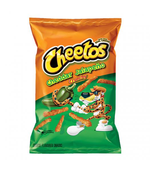Frito Lay Cheetos Crunchy Jalapeno Cheddar 226g Snacks and Chips Frito-Lay