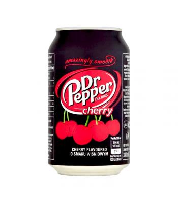 Dr Pepper Cherry (330ml) (EU) Soda and Drinks Dr Pepper